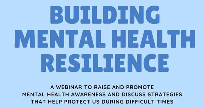 ONLINE ZOOM MAC Building Mental Health Resilience Webinar