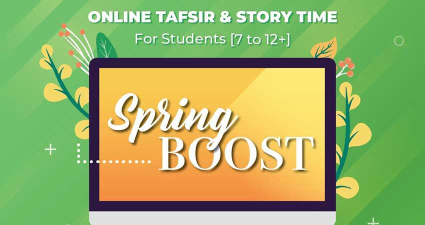ONLINE Al Huda Institute ISNA Canada Tafsir and Story Time Ages 12 and older Boys and Girls