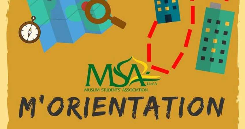 Muslim Students' Association - UofA M'Orientation