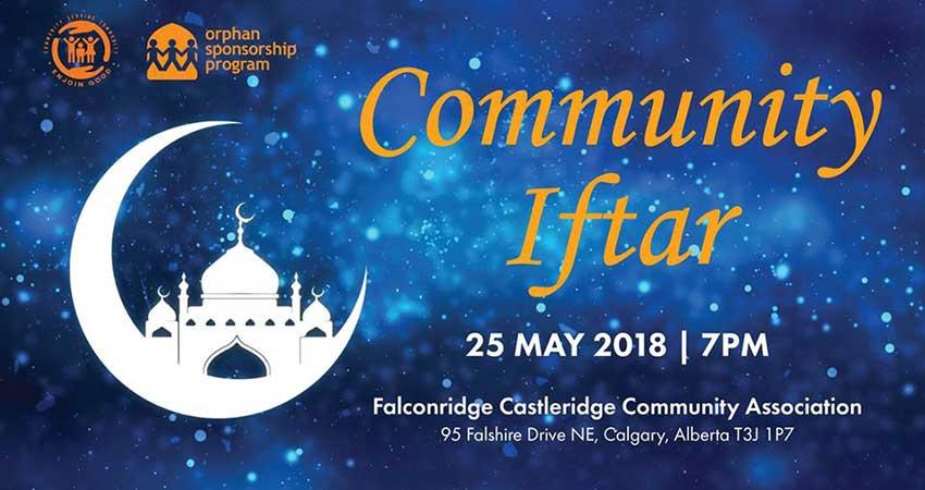 Orphan Sponsorship Program Annual Community Iftar
