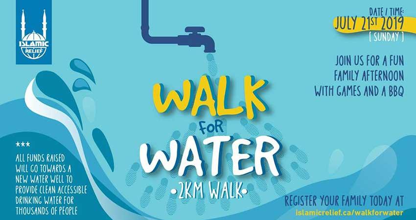 Islamic Relief Canada Walk for Water · Ottawa