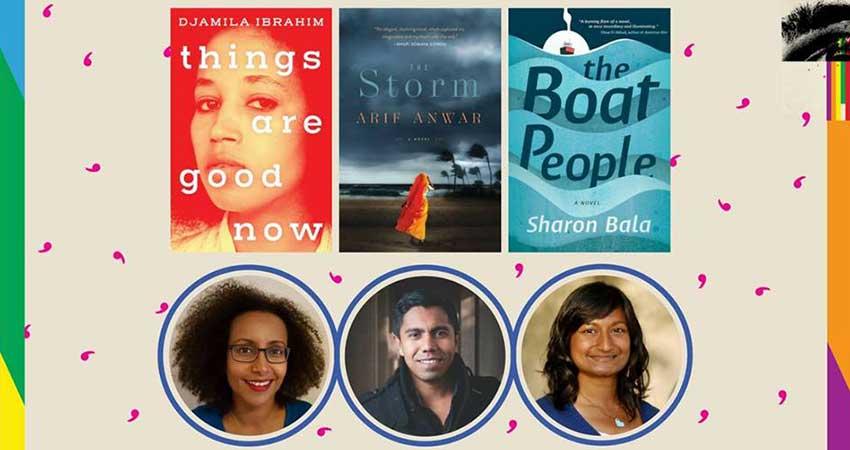 Ottawa International Writers Festival Borders and Belonging: Djamila Ibrahim, Arif Anwar, Sharon Bala