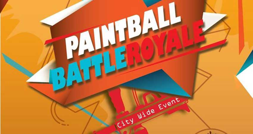 Momintum Paintballing Battle Royale