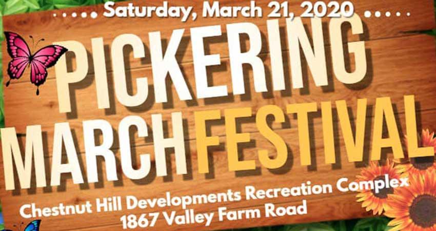 Pickering Spring Festival 2020