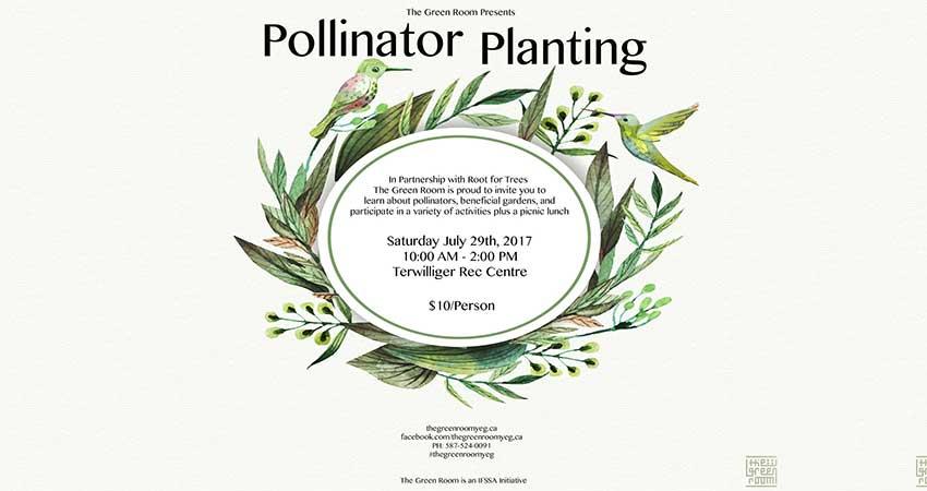 The Green Room Pollinator Planting