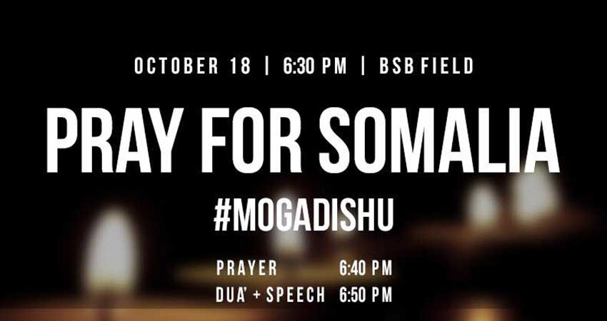 Pray for Somalia at McMaster University