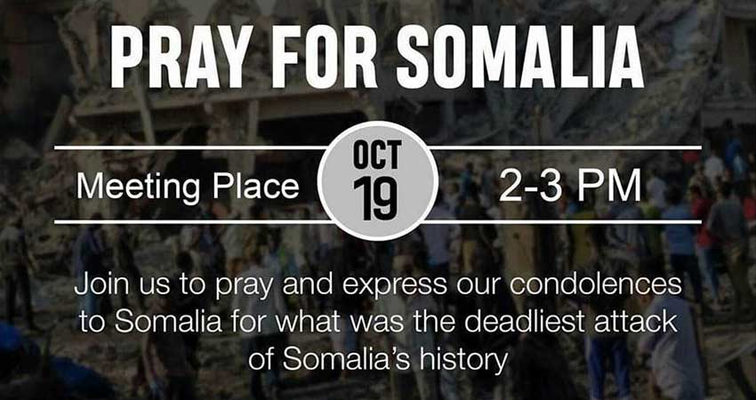 Pray for Somalia at University of Toronto Scarborough