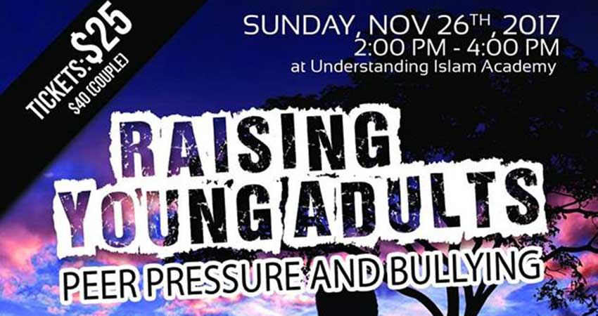 Understanding Islam Academy Canada Raising Young Adults - Peer Pressure and Bullying