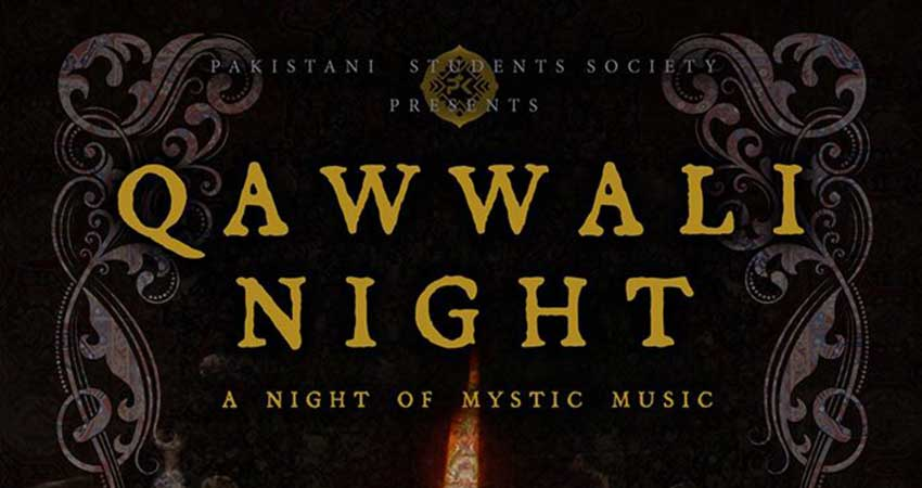 Pakistani Students Society - UCalgary Qawwali Night - 2017