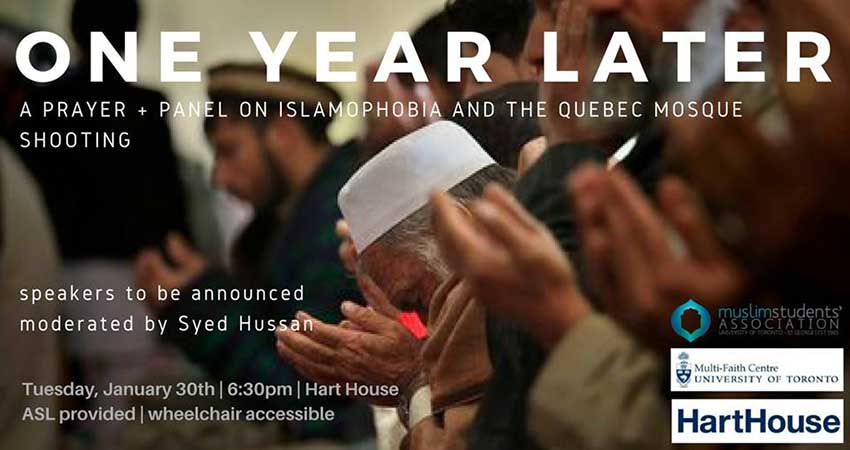One Year Later: Islamophobia & the Quebec Mosque Shooting