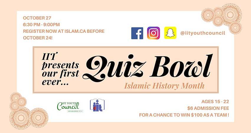 Islamic History Quiz Bowl