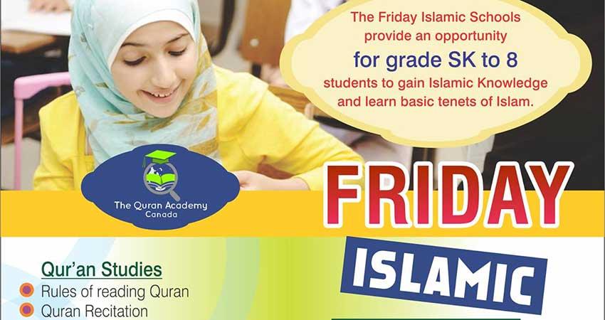 Quran Academy Friday Islamic School - Oakville Starts Sept 22