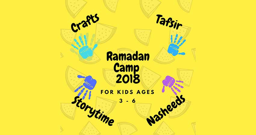 Ramadan Camp for Kids Ages 3 -6