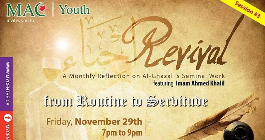 Ottawa MAC Youth Revival: Al-Ghazali's Seminal Work