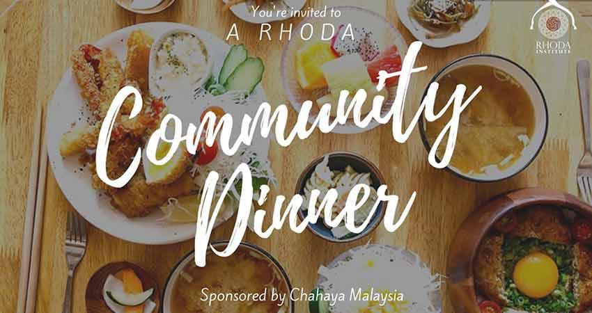 Sanad Collective Community Dinner at Chahaya Malaysia Restaurant