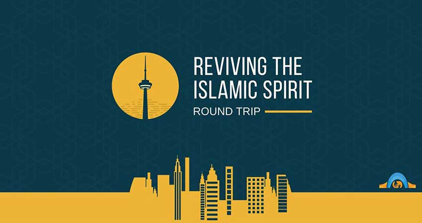 Round Trip from Ottawa to Reviving the Islamic Spirit (RIS)