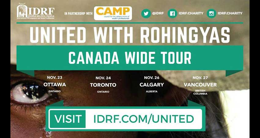 IDRF United with Rohingyas - Vancouver Fundraiser