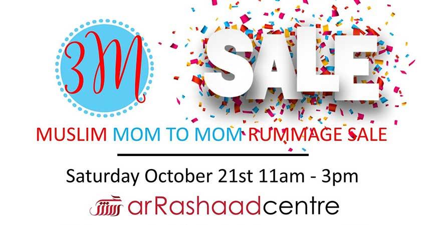 Mom2Mom Rummage Sale at Ar-Rashaad Centre