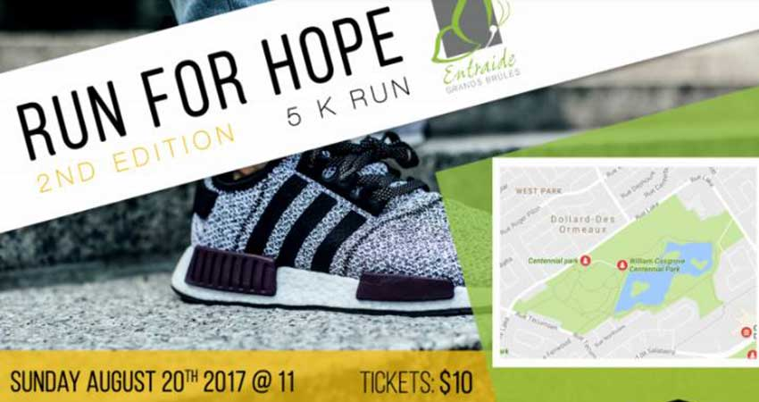 Run for Hope Entraide Grands Brules
