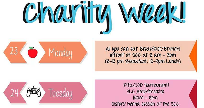 Ryerson MSA Charity Week