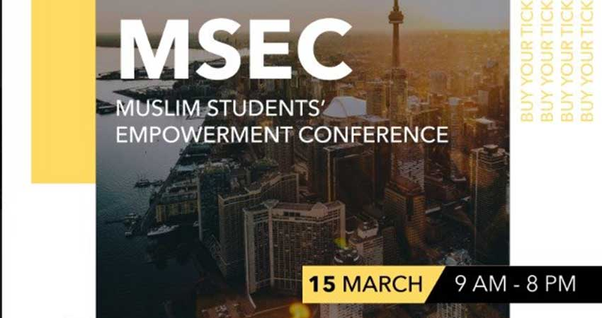 Ryerson MSA Muslim Students' Empowerment Conference