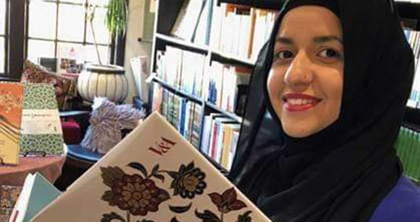 Durham Chapter CCMW Islamic History Month with Artist Safia Malik