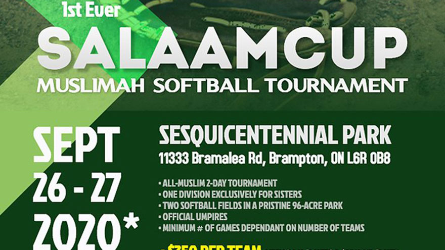 2020 Salaam Cup Muslim Women's Softball Tournament