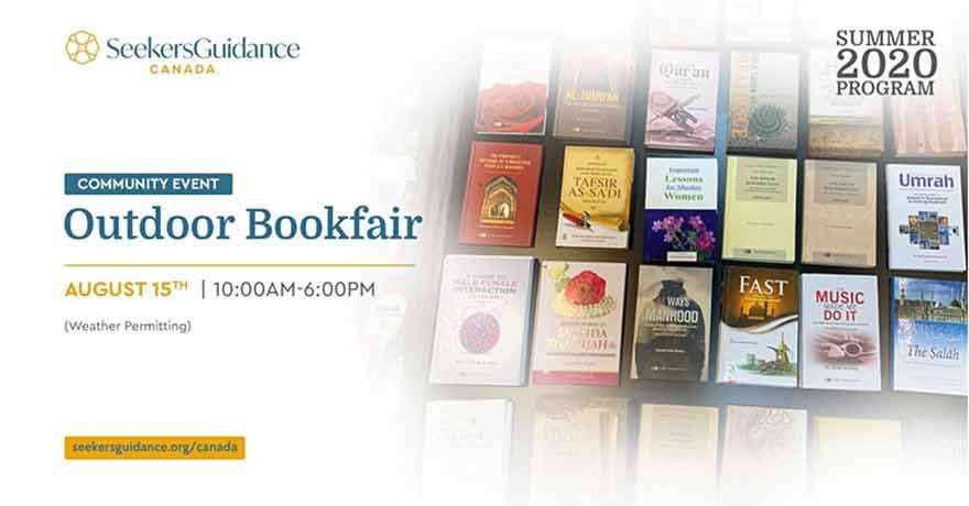 SeekersGuidance Canada Outdoor Islamic Bookfair