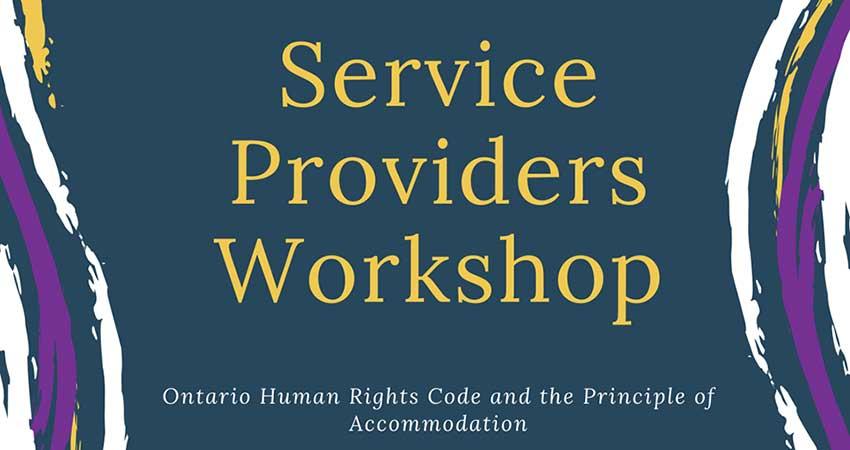Coalition of Muslim Women KW Service Providers Workshop