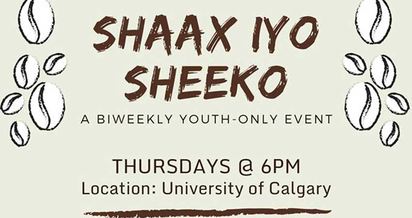 Somali Community of Calgary and Somali Students' Association Shaax iyo Sheeko