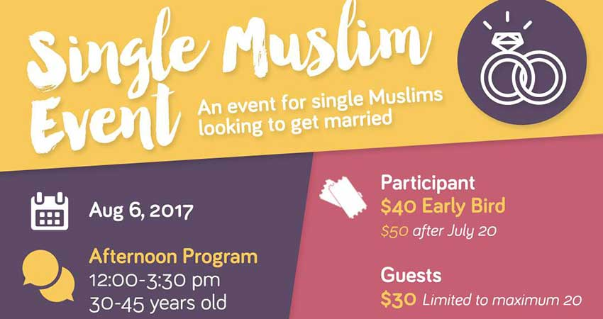 Single Muslim Event at MuslimFest 2017 with Think Nikah