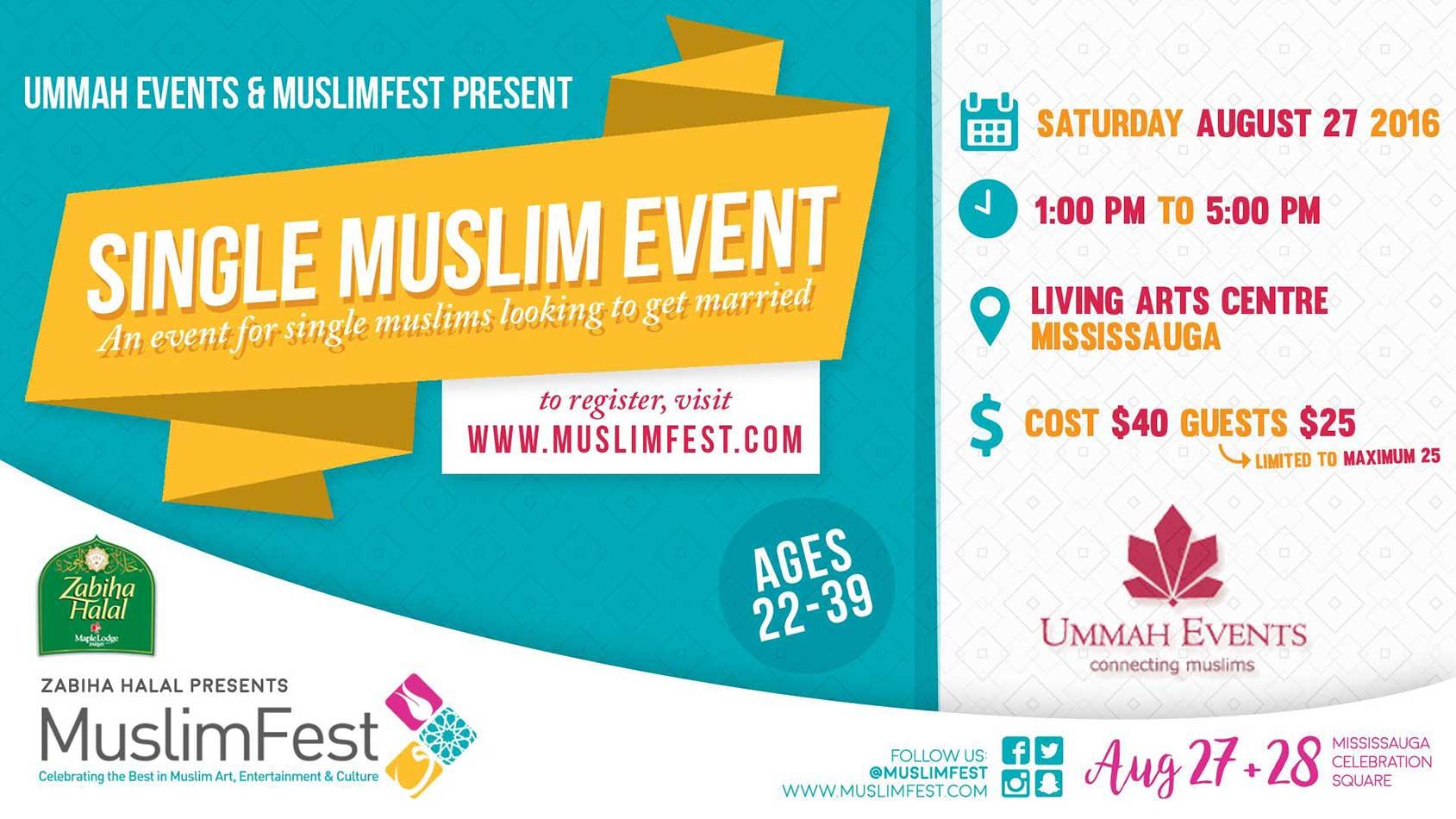 Single Muslim Event at MuslimFest 2016