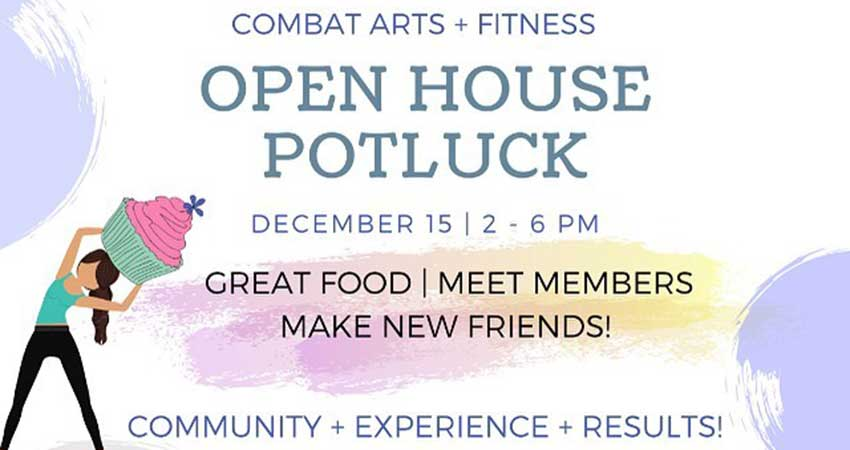 SisterFit Combat Arts and Fitness Potluck Open House