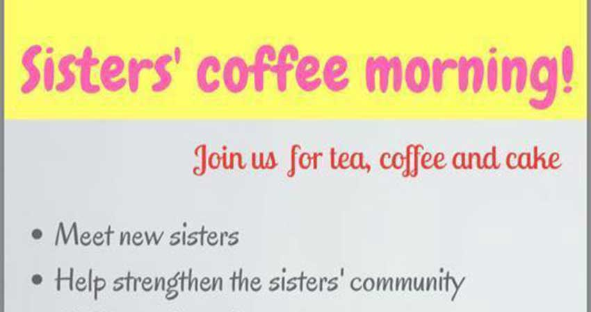 Islamic Society of Kingston Sisters' Coffee Morning