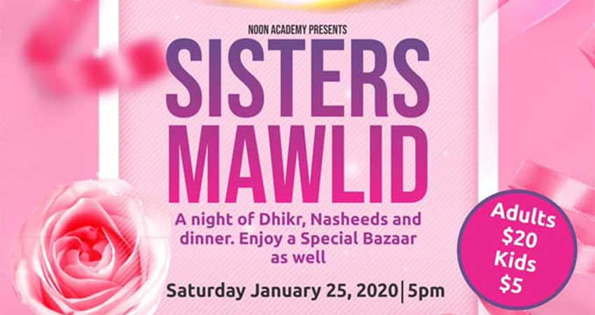 Noon Academy's Sisters' Mawlid