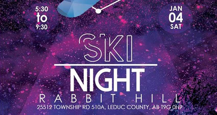 Ansar Youth Association Ski Night At Rabbit Hill