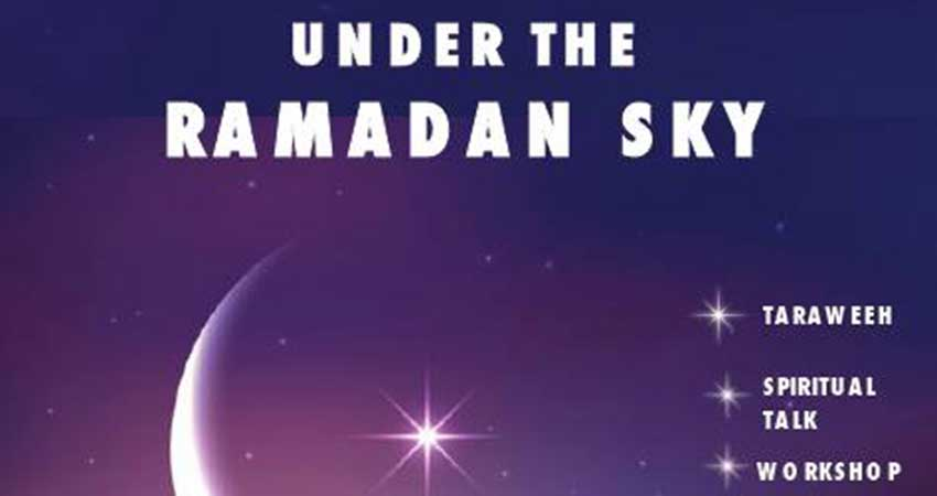 Under The Ramadan Sky Sisters Qiyam Night