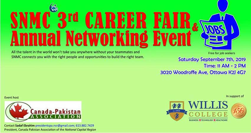 SNMC 3rd Annual Career Fair, Networking Event