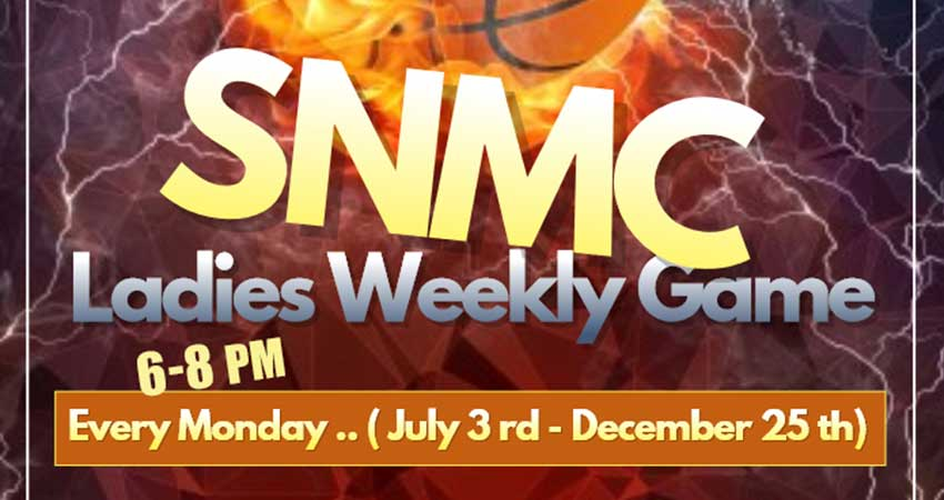 SNMC Sisters Weekly Basketball Mondays