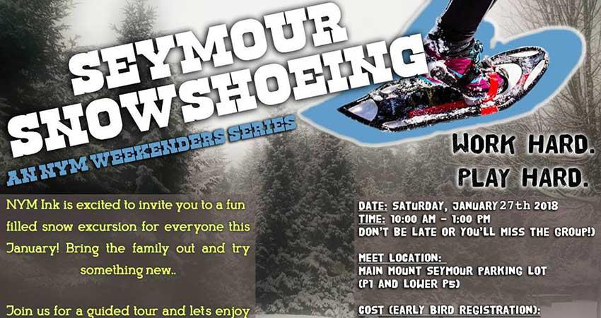 NYM iNK Snow Shoe Adventure by NYM Weekenders