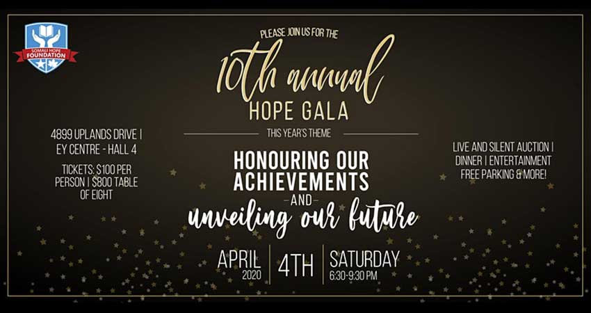 10th Annual Somali Hope Foundation Gala