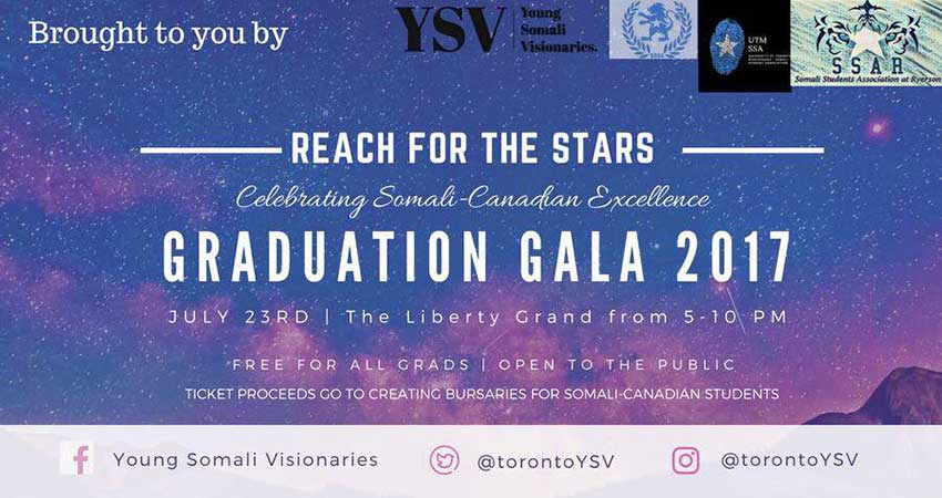 Reach For the Stars Grad Gala for Somali Canadian Post Secondary Grads