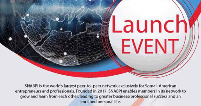 Somali North American Business and Professionals Launch Event