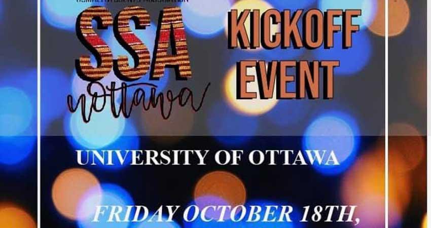 University of Ottawa Somali Student Association Kick-off Meet and Greet