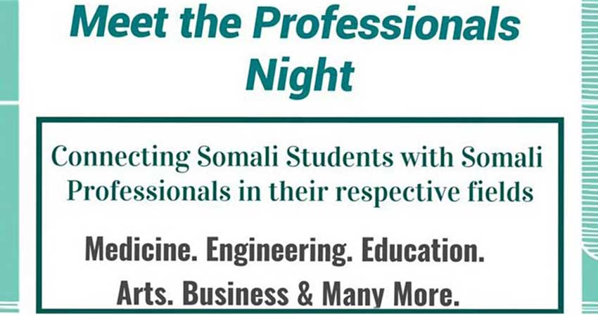 Connecting Somali Students with Somali Professionals