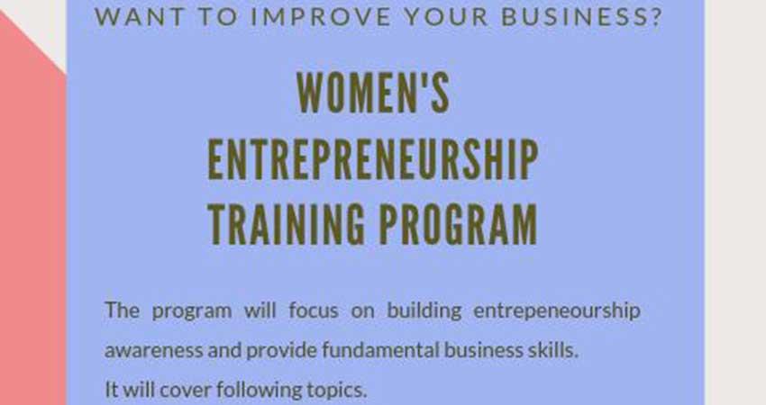Somali Community of Calgary Women's Entrepreneurship Training Program