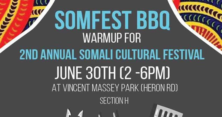 Somali Centre for Family Services Somfest BBQ