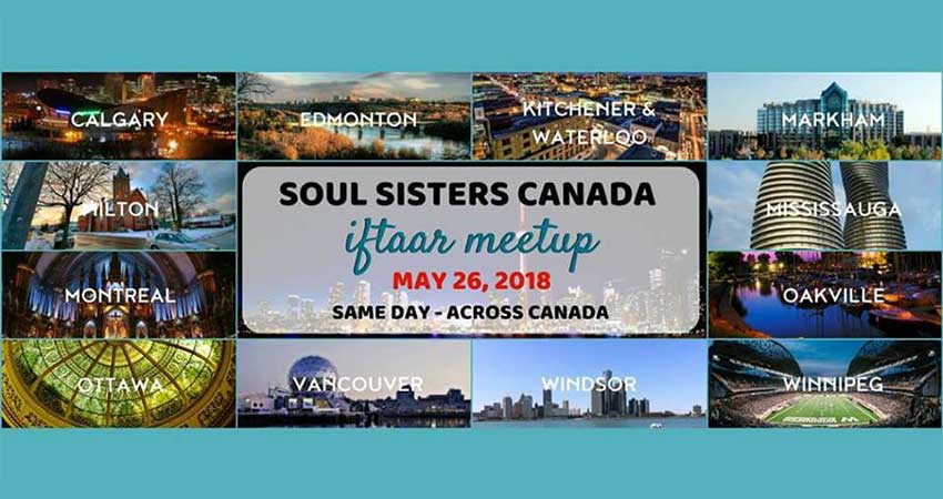 Soul Sisters Iftar Meetup - Windsor