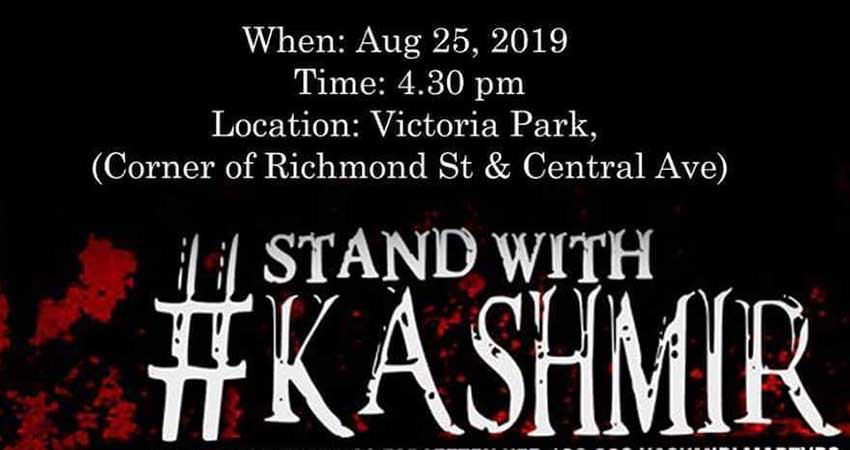 Rally for Kashmir