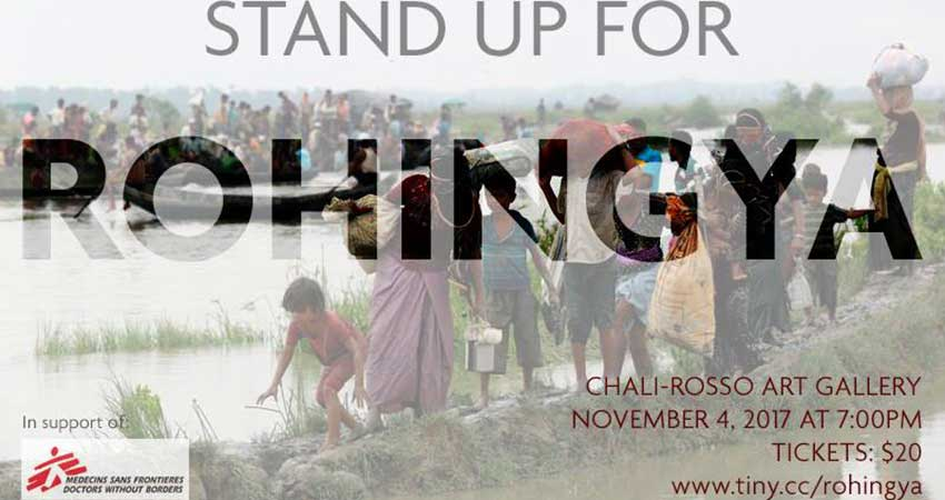 Stand Up For Rohingya Fundraiser with Doctors without Borders